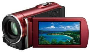 SONY デジタル HD ビデオカメラ レコーダー レッド HDR-CX170/R