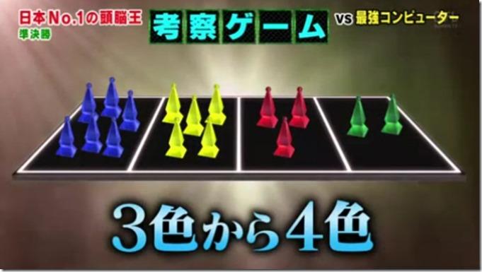 2015 頭脳王 考察ゲーム 4本